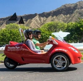 Hawaii S Only Two Person Moped The Scoot Coupe